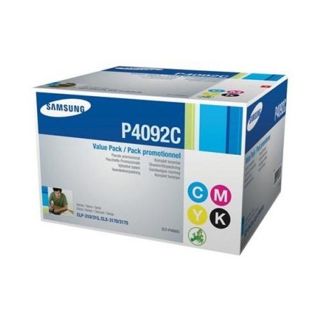 Samsung P4092C toner kit (K4092S, C4092S, M4092S, Y4092S)