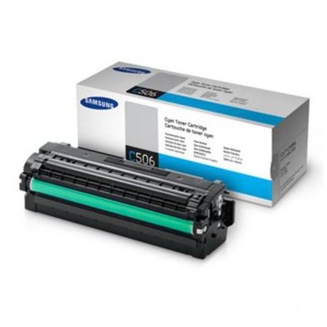 Samsung C506L didesnės talpos žydra tonerio kasetė