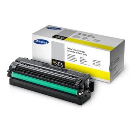 Samsung Y506L didesnės talpos geltona tonerio kasetė