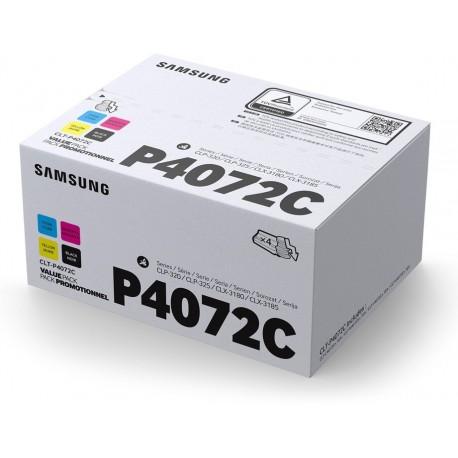 Samsung P4072C toner kit (K4072S, C4072S, M4072S, Y4072S)