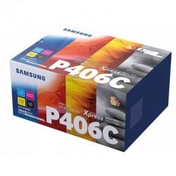 Samsung P406C toner kit (K406S, C406S, M406S, Y406S)