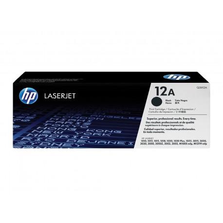 HP 12A juoda tonerio kasetė (Q2612A)