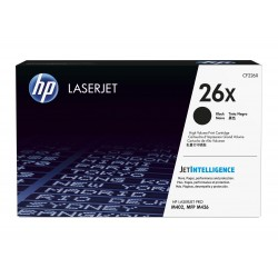 HP 26X higher capacity toner cartridge (CF226X)