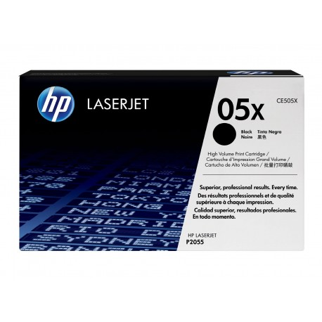 HP 05X higher capacity black toner cartridge (CE505X)