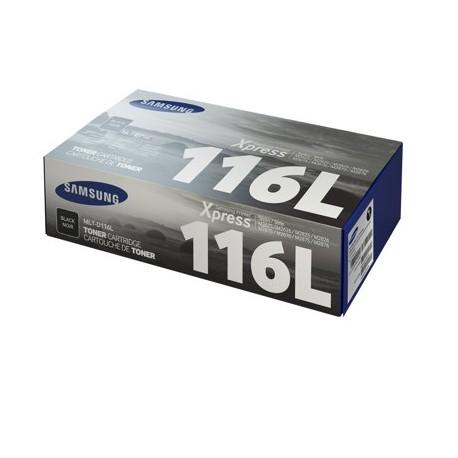Samsung 116L higher capacity black toner cartridge (MLT-D116L)