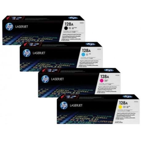 HP 128A toner kit (CE320A, CE321A, CE322A, CE323A)