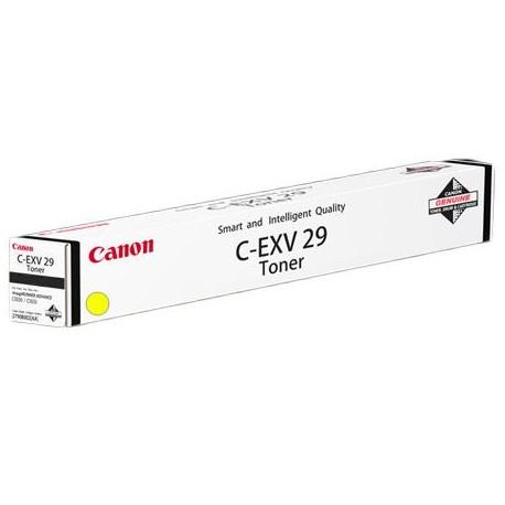 Canon C-EXV29 geltona, kopijuoklio milteliai