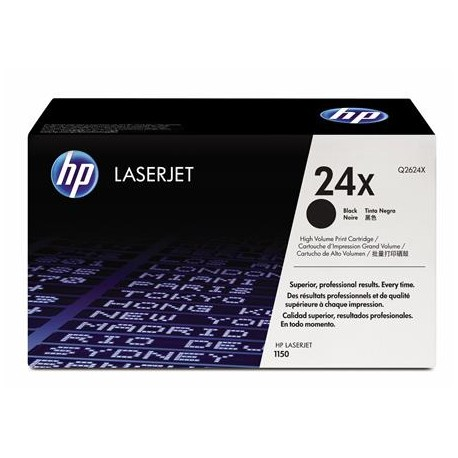 HP 24X didesnės talpos juoda tonerio kasetė