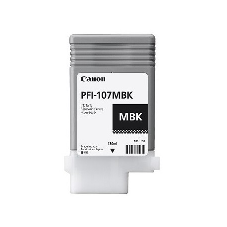 Canon PFI-107MBK matinė juoda rašalo kasetė