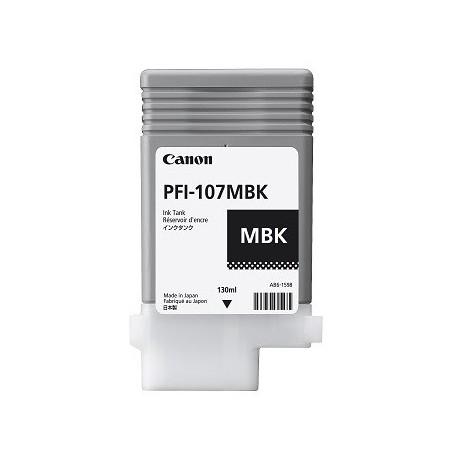 Canon PFI-107MBK matte black ink cartridge (PFI-107MBK
