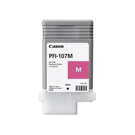 Canon PFI-107M magenta ink cartridge (PFI-107M, 6707B001)