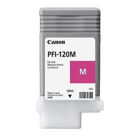 Canon PFI-120M magenta ink cartridge (PFI-120M, 2887C001AA)