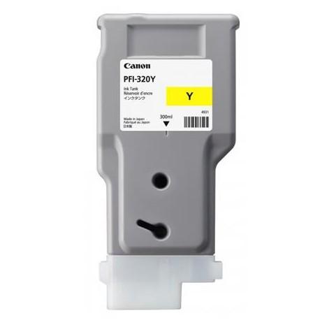 Canon PFI-320Y higher capacity yellow ink cartridge (PFI-320Y
