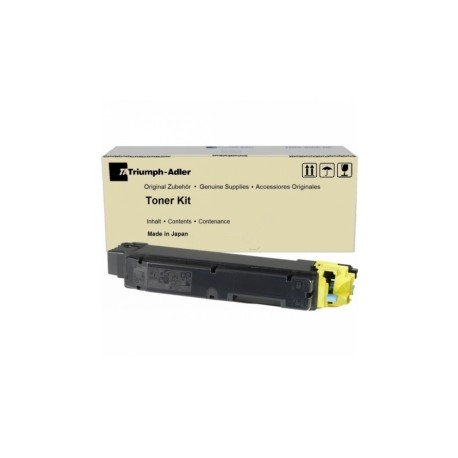 Triumph-Adler / Utax PK-5012Y geltona tonerio kasetė