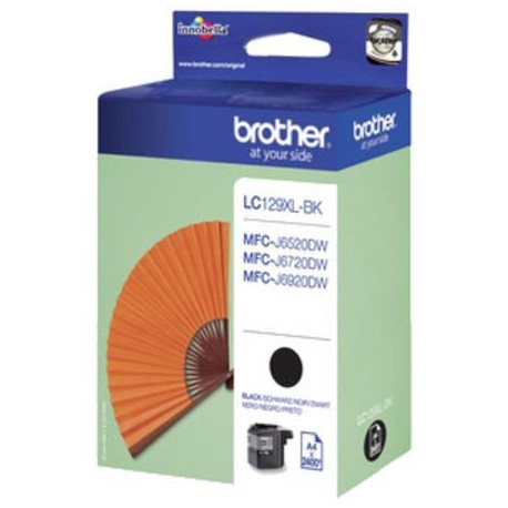 Brother LC129XLBK higher capacity black ink cartridge