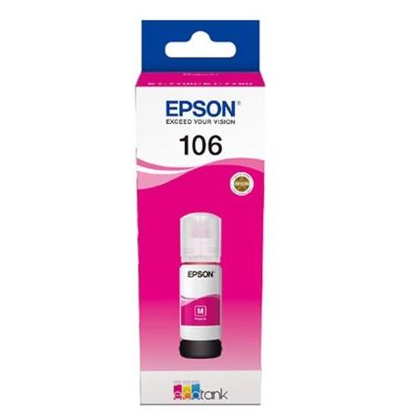 Epson 106 magenta ink bottle (C13T00R340)