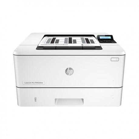 HP LaserJet Pro M402dne, black and white printer