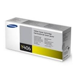 Samsung Y406 geltona tonerio kasetė (CLT-Y406S)