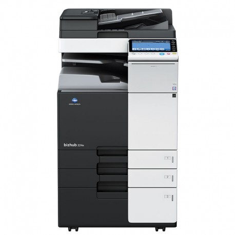 Konica Minolta Bizhub 224e, monochrome multifunction printer ()