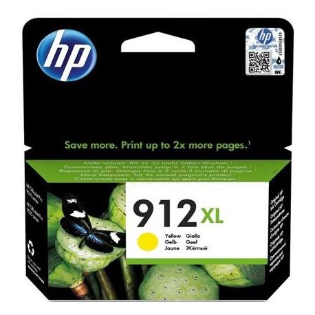 HP 912XL didesnės talpos geltona  rašalo kasetė