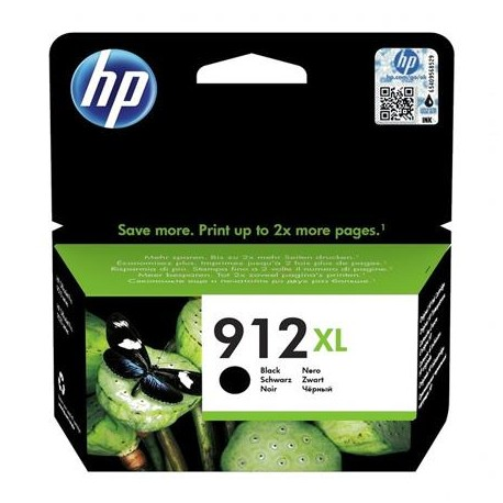 HP 912XL higher capacity black ink cartridge