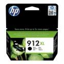 HP 912XL didesnės talpos juoda  rašalo kasetė