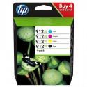 HP 912XL ink cartridge kit