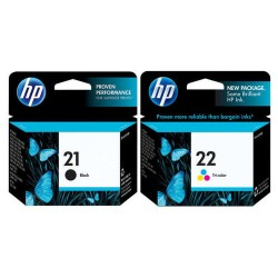 HP 21 / HP 22 rašalo kasečių komplektas