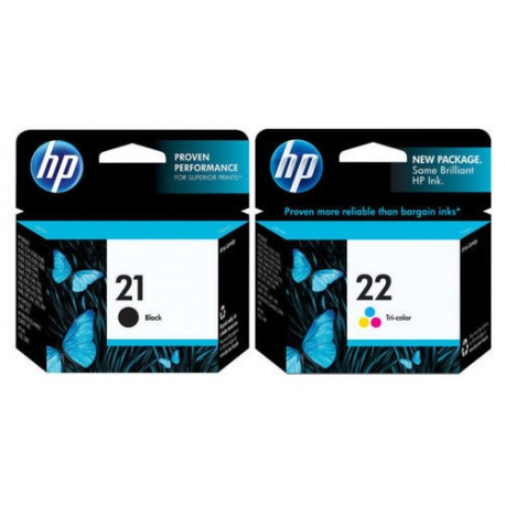 HP 21 / HP 22 ink cartridge set