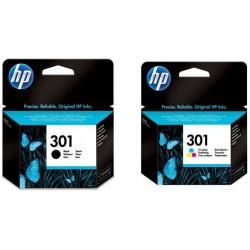 HP 301 rašalo kasečių komplektas