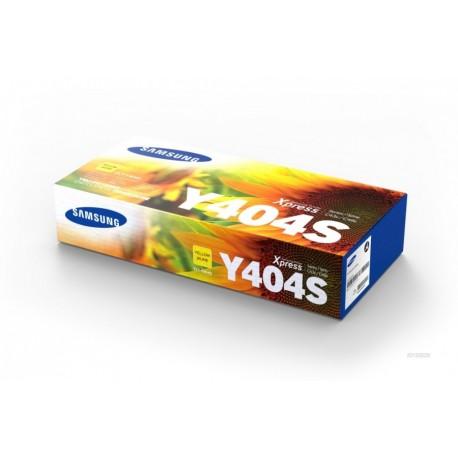 Samsung Y404 geltona tonerio kasete (CLT-Y404S)