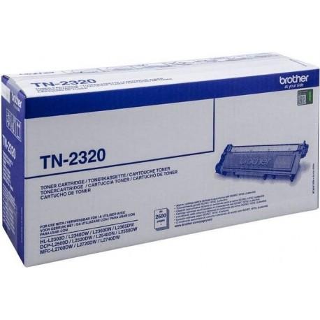 Brother TN-2320 juoda tonerio kasete (TN2320)