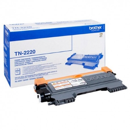Brother TN-2220 black toner cartridge (TN-2220)