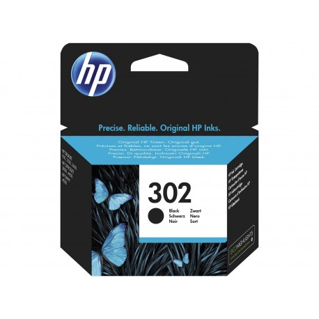 HP 302 black ink cartridge (F6U66AE/Nr.302)
