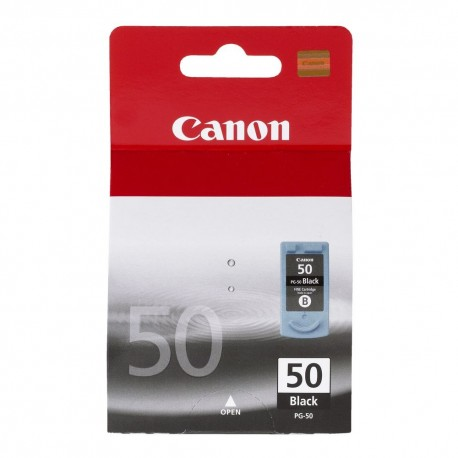 Canon PG-50 higher capacity black ink cartridge (PG-50)