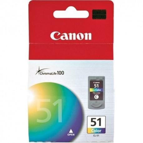 Canon CL-51 didesnės talpos daugiaspalvė rašalo kasetė