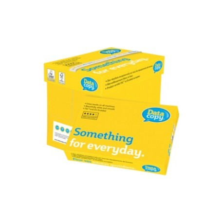 Popierius Data Copy, A4, 80 g/m², 500 lapų pakelyje, 5 pakeliai dėžėje
