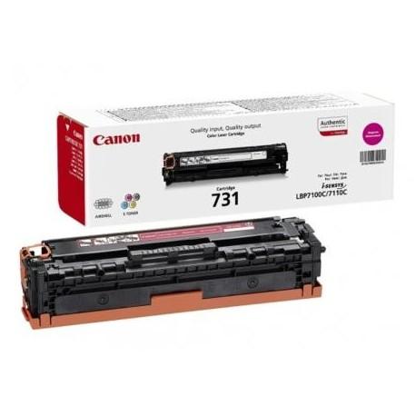 Canon 731 purpurinė tonerio kasetė (Cartridge 731M)
