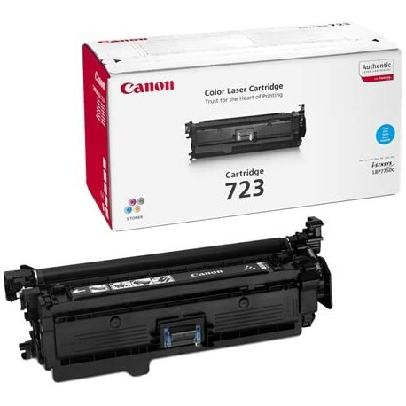 Canon Cartridge 723 cyan toner cartridge (Cartridge 723C