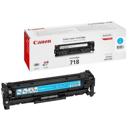 Canon Cartridge 718 cyan toner cartridge (Cartridge 718C