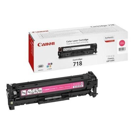 Canon 718 purpurinė tonerio kasetė (Cartridge 718M)