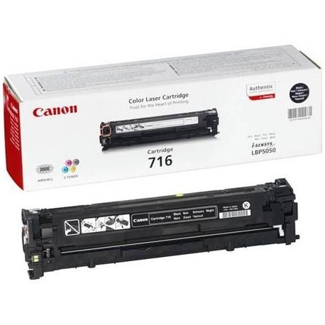 Canon 716 juoda tonerio kasetė (Cartridge 716Bk)