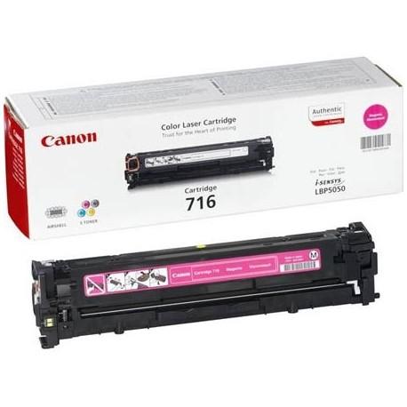 Canon 716 purpurinė tonerio kasetė (Cartridge 716M)