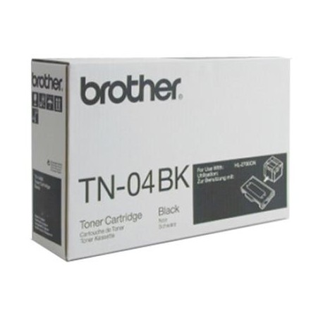 Brother TN-04BK juoda tonerio kasetė