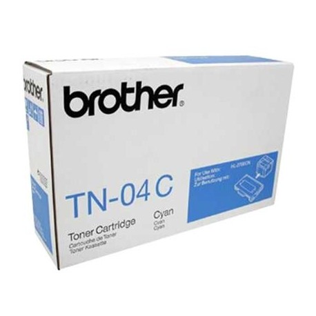 Brother TN-04C žydra tonerio kasetė