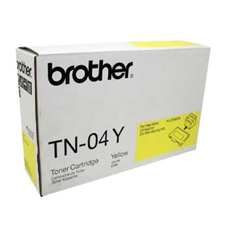 Brother TN-04Y geltona tonerio kasetė