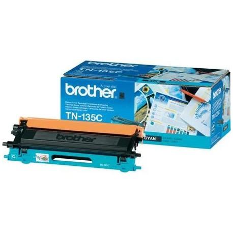 Brother TN-135C didesnės talpos žydra tonerio kasetė (TN135C)