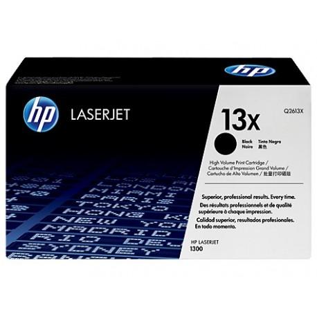 HP 13X higher capacity black toner cartridge (Q2613X)