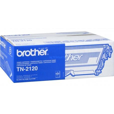 Brother TN-2120 higher capacity black toner cartridge (TN-2120)