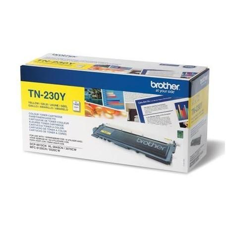 Brother TN-230Y geltona tonerio kasetė (TN230Y)